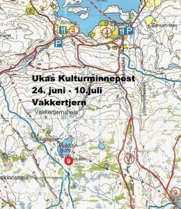 Kart 10 Vakkertjern