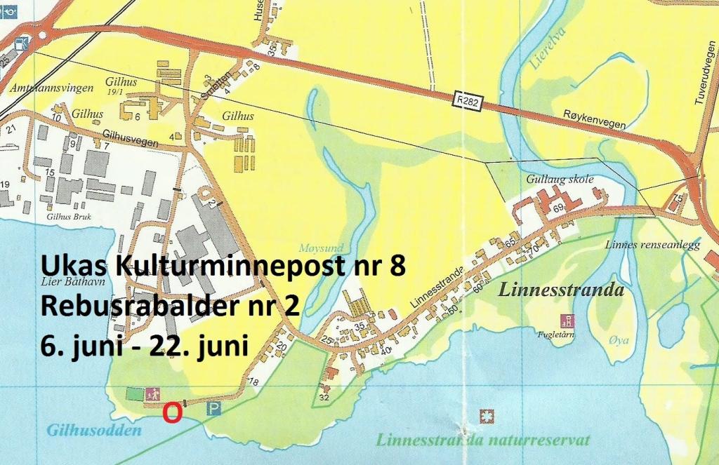 Kart 08 Gilhusodden