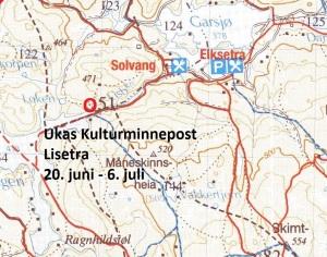 Kart 10 Lisetra