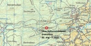 Kart  14 Grønnfoss