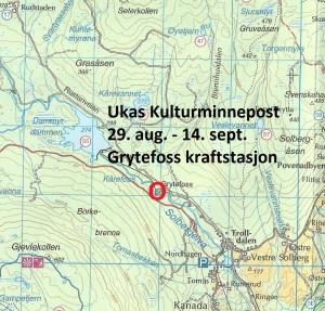Kart  15 Grytefoss