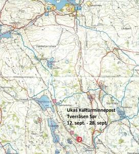 Kart 17 Tverråsen