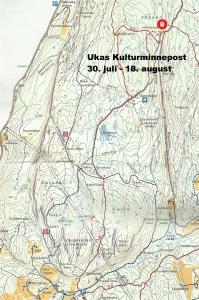 Kart 12 Haukelisetervollen