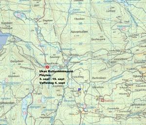 Kart 16 Fløyten