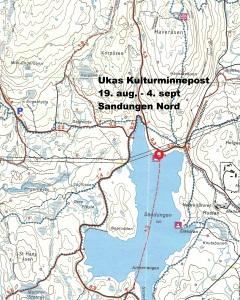 Kart 14 Sandungen